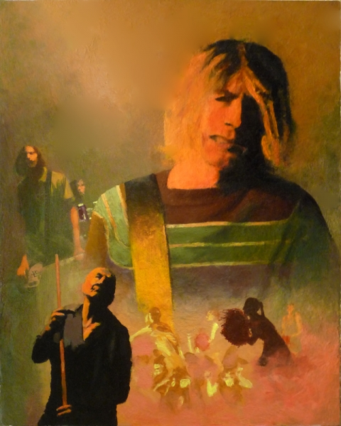 Nirvana Illustration
